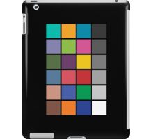Colour chart iPad Case/Skin