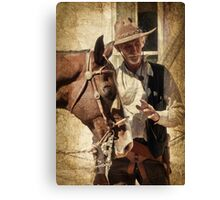 Lee and Dusty Canvas Print