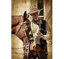Lee and Dusty Photographic Print