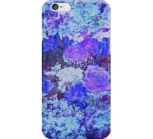 Roses are Bountiufl Blue and Purple and Lilac iPhone Case/Skin