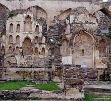 RUINS AT GOLKONDA FORT, HYDERABAD by RakeshSyal
