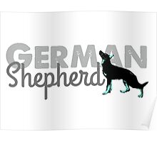 German Shepherd Poster