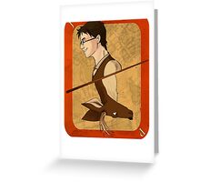 James Potter Playing Card Greeting Card