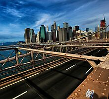 Lower Manhattan by Ken Yuel