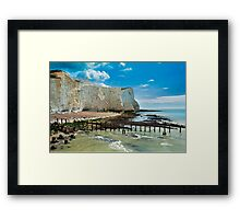 Seaford Cliffs Framed Print