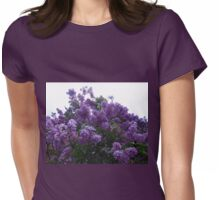 Purple Lilacs Womens Fitted T-Shirt