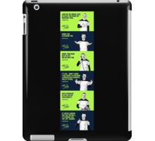 DONT ZLATAN WITH ME iPad Case/Skin