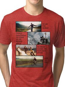 THE PURPOSE OF LIFE Tri-blend T-Shirt