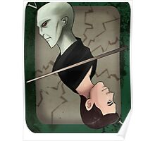 Lord Voldemort Playing Card Poster