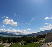 United Nations in Geneva by SinaStraub