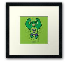 The Incredibear Hulk Framed Print