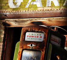 Vintage Sinclair Pump by Ryan Houston