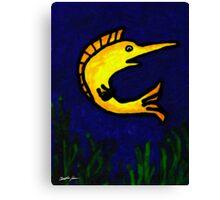 Funny Fish 1 Canvas Print