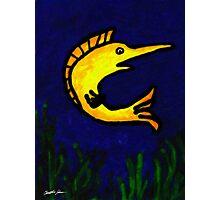 Funny Fish 1 Photographic Print
