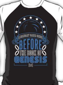 Before The Book Of Genesis (Sonic Legendary Gamer) T-Shirt