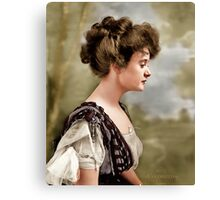 Billie Burke, Washington D.C. 1908 Canvas Print