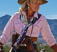 Ranch woman by Linda Sparks