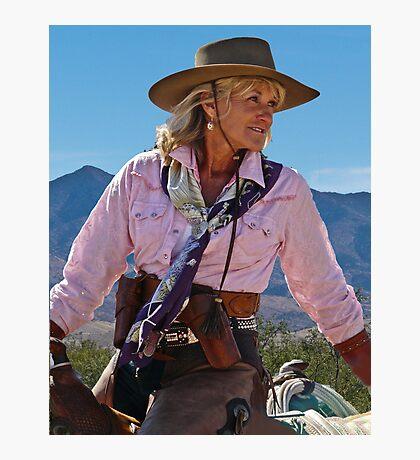 Ranch woman Photographic Print