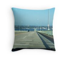 Jamestown Bridge Throw Pillow