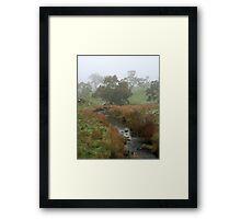 Misty Creek ~ Mount Barker Framed Print