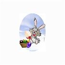 Easter Bunny by Jandzart013