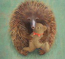 Ernest the Echidna by NareldaJoy