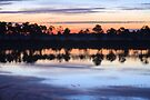 Sunrise on Webb Lake by Kim McClain Gregal