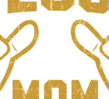 This is What an AWESOME MOM Looks Like Retro Sticker