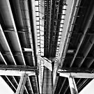 bridge abstract by Shannon Holm