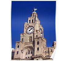 Liver Building Liverpool Poster