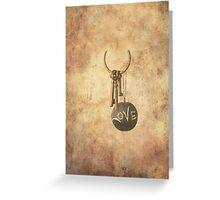 Keys To Love Greeting Card