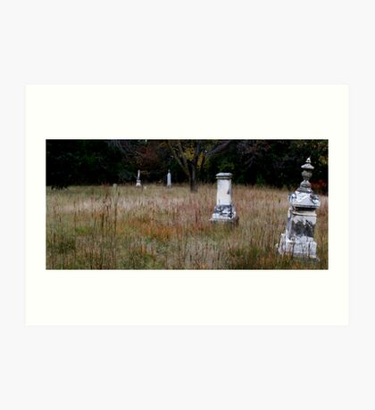 Wright Cemetery Art Print