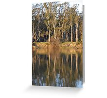 Afternoon on The Murray Greeting Card