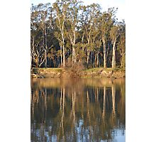 Afternoon on The Murray Photographic Print