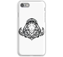 Zodiac Sign Virgo Black iPhone Case/Skin