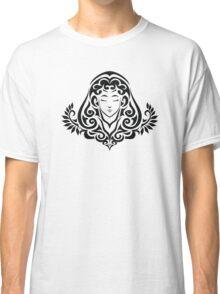 Zodiac Sign Virgo Black Classic T-Shirt