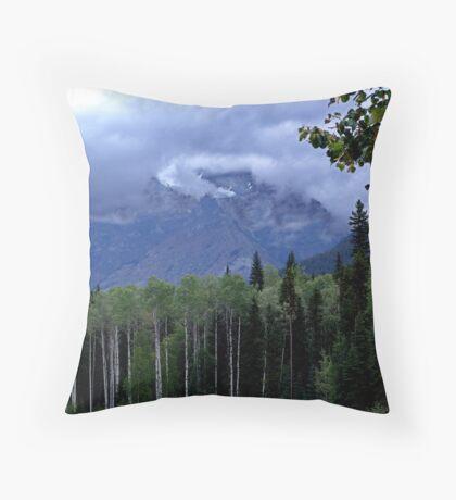 Mt. Robson Park (1) Throw Pillow