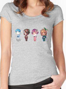 kimono girls Women's Fitted Scoop T-Shirt
