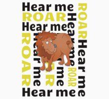 Lion   Hear Me ROAR Kids Clothes