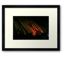 Scary Sausages Framed Print