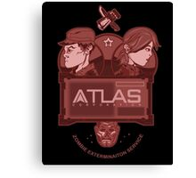 Altas Corporation Exterminators' Canvas Print