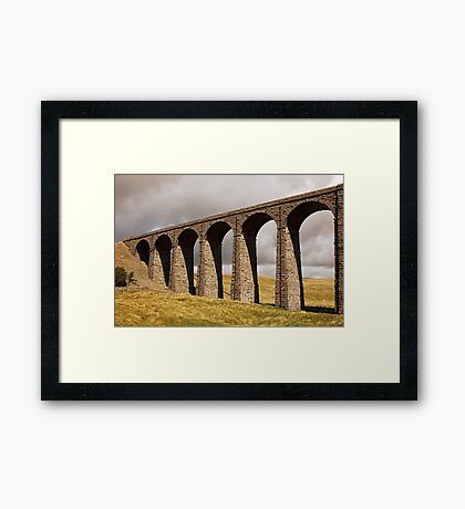 Ribble Viaduct - Yorkshire Dales Framed Print