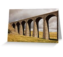 Ribble Viaduct - Yorkshire Dales Greeting Card