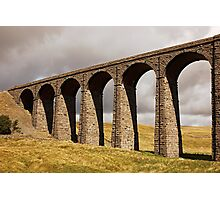 Ribble Viaduct - Yorkshire Dales Photographic Print