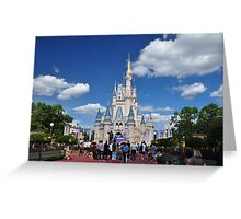 The Castle - Magic Kingdom Orlando Greeting Card