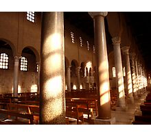 The Basilica/Cathedral of St. Euphemia - Grado (Italy) Photographic Print