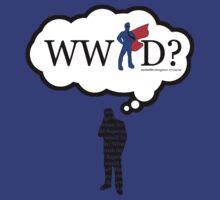 What Would a Super Man Do? T-Shirt