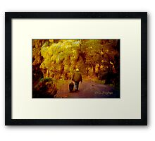 Ways of Walking 1 Framed Print