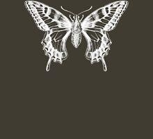 Butterfly Ghost Womens Fitted T-Shirt