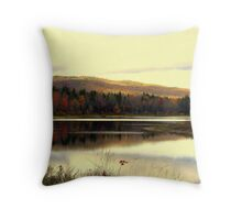 Fall At Pillsbury State Park 2, Washington, NH Throw Pillow